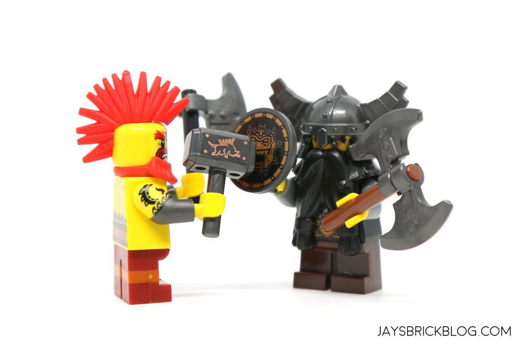 Arm Lego 4x Arms Pair of Orange for Minifigures New Mini Figurines