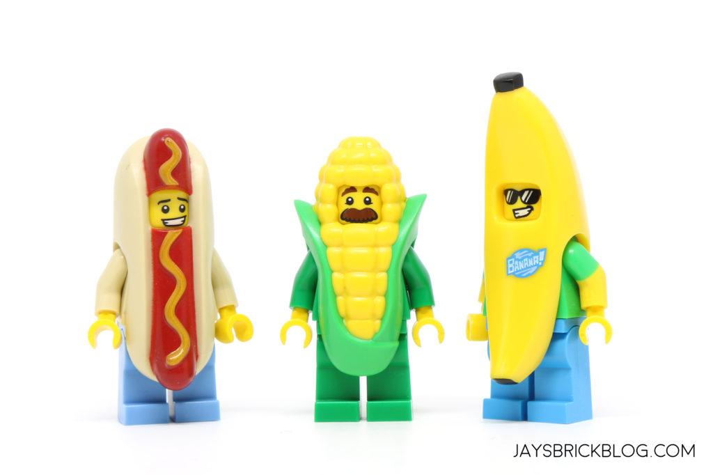 LEGO Minifigures Hot Dog Suit Guy New