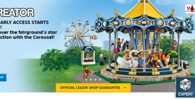 LEGO 10257 Carousel now available for VIP members
