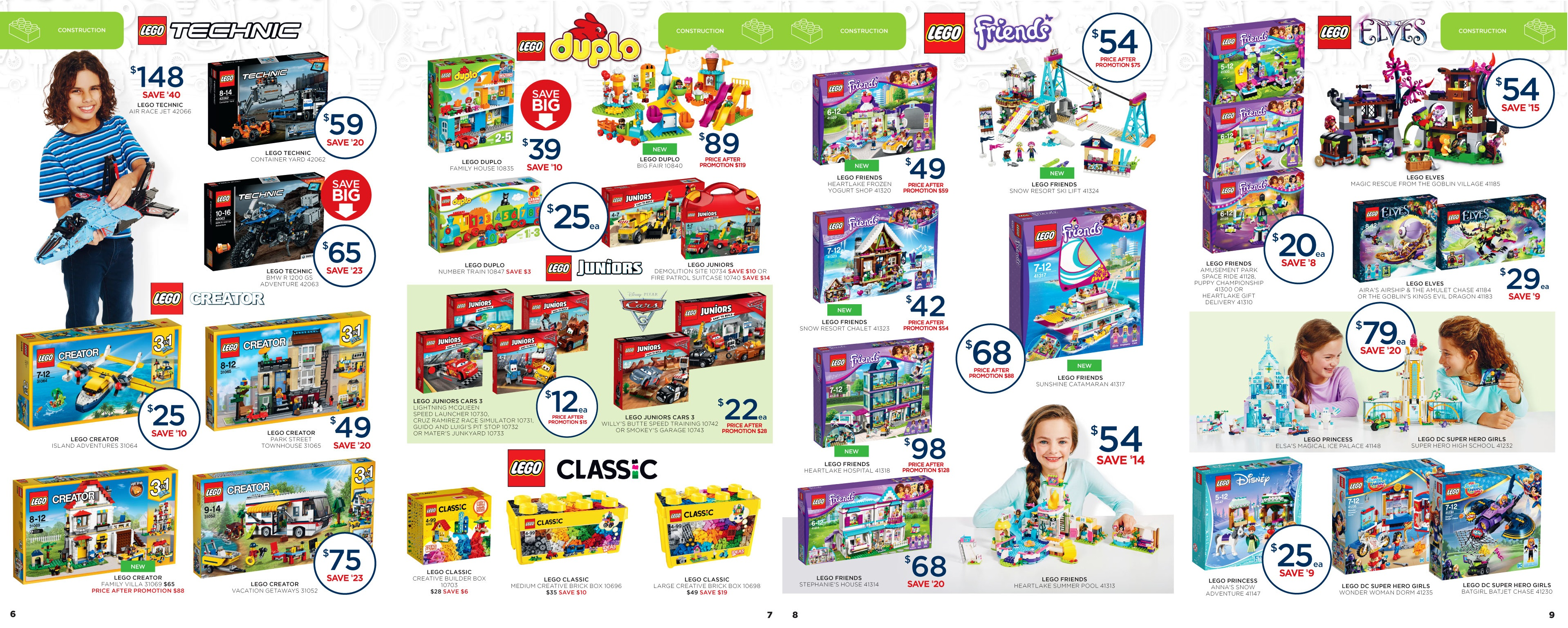 0948ba359c1 Big W have a monster of a LEGO sale and this is quite possibly one of the  better sales this time round. Big W's catalogue is massive, and pretty much  covers ...