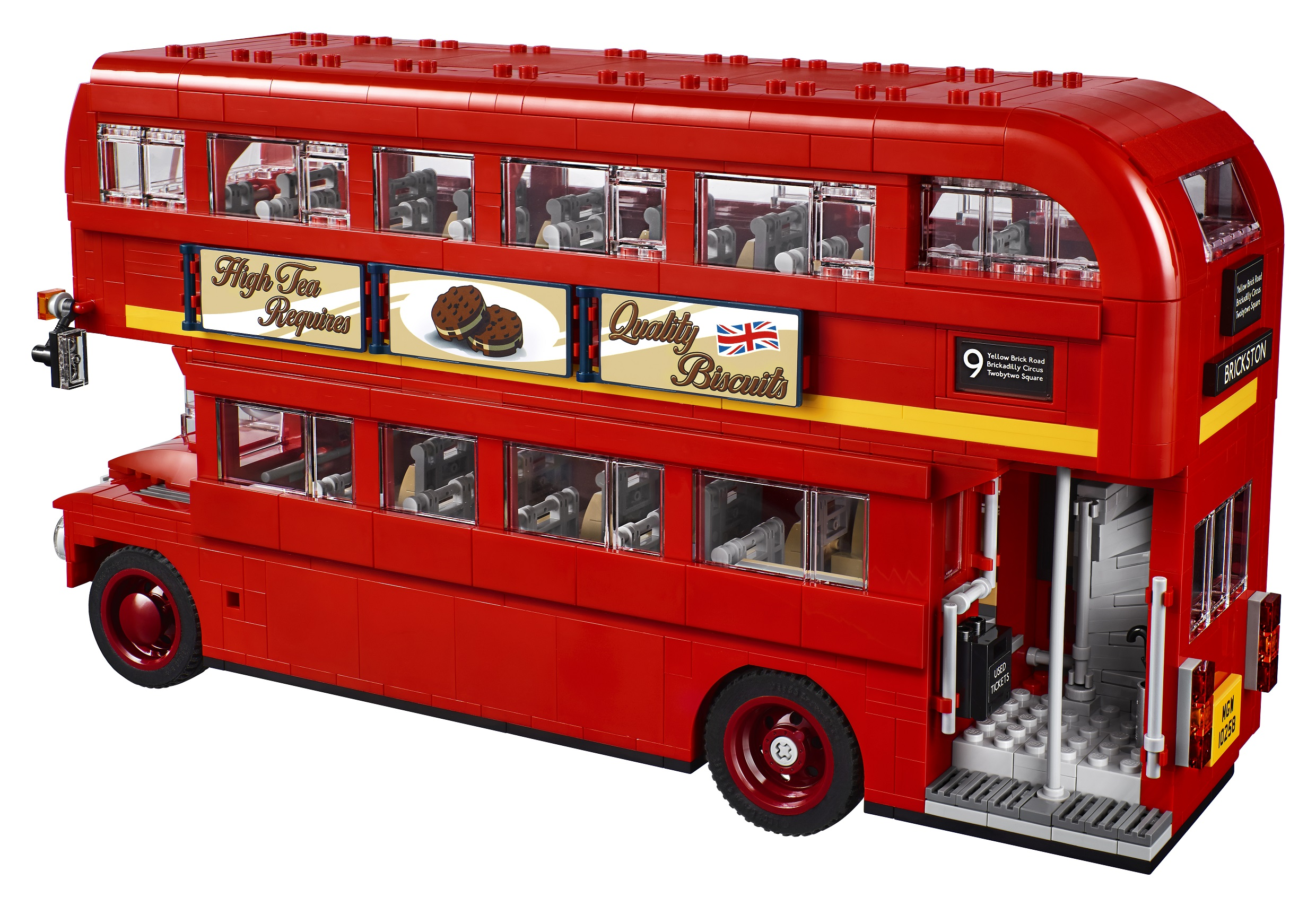All Aboard The Lego Creator Expert 10258 London Bus
