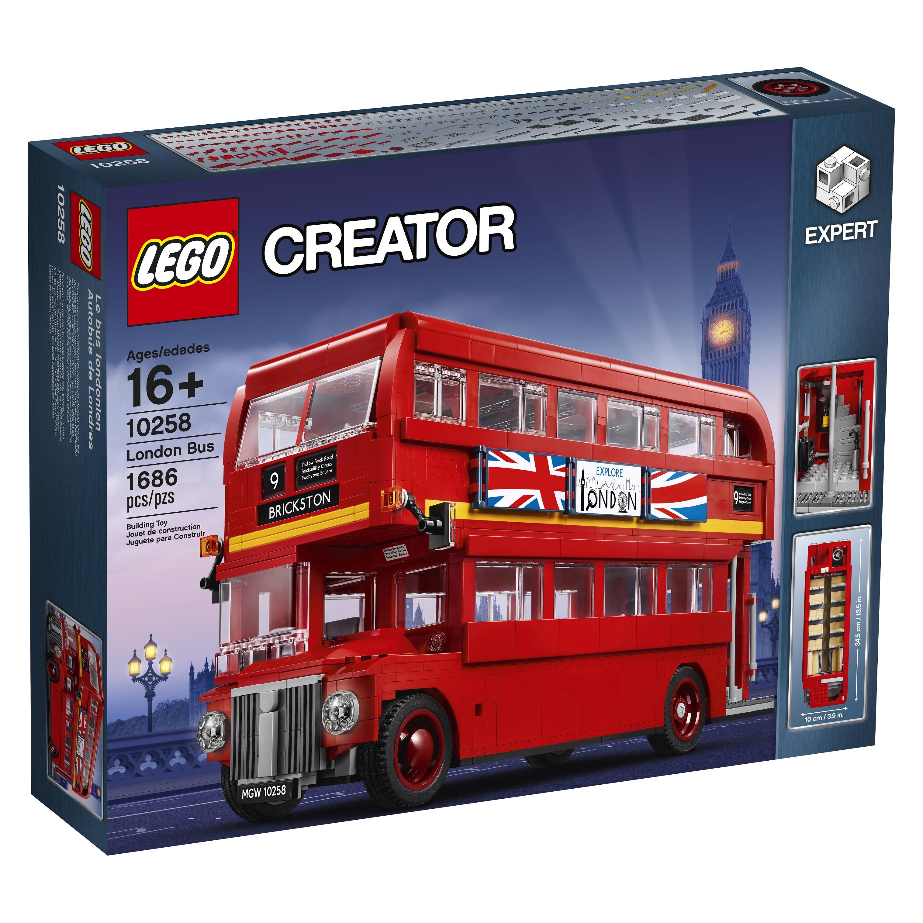 all aboard the lego creator expert 10258 london bus. Black Bedroom Furniture Sets. Home Design Ideas