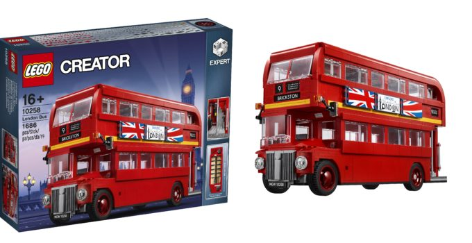 All aboard the LEGO Creator Expert 10258 London Bus!