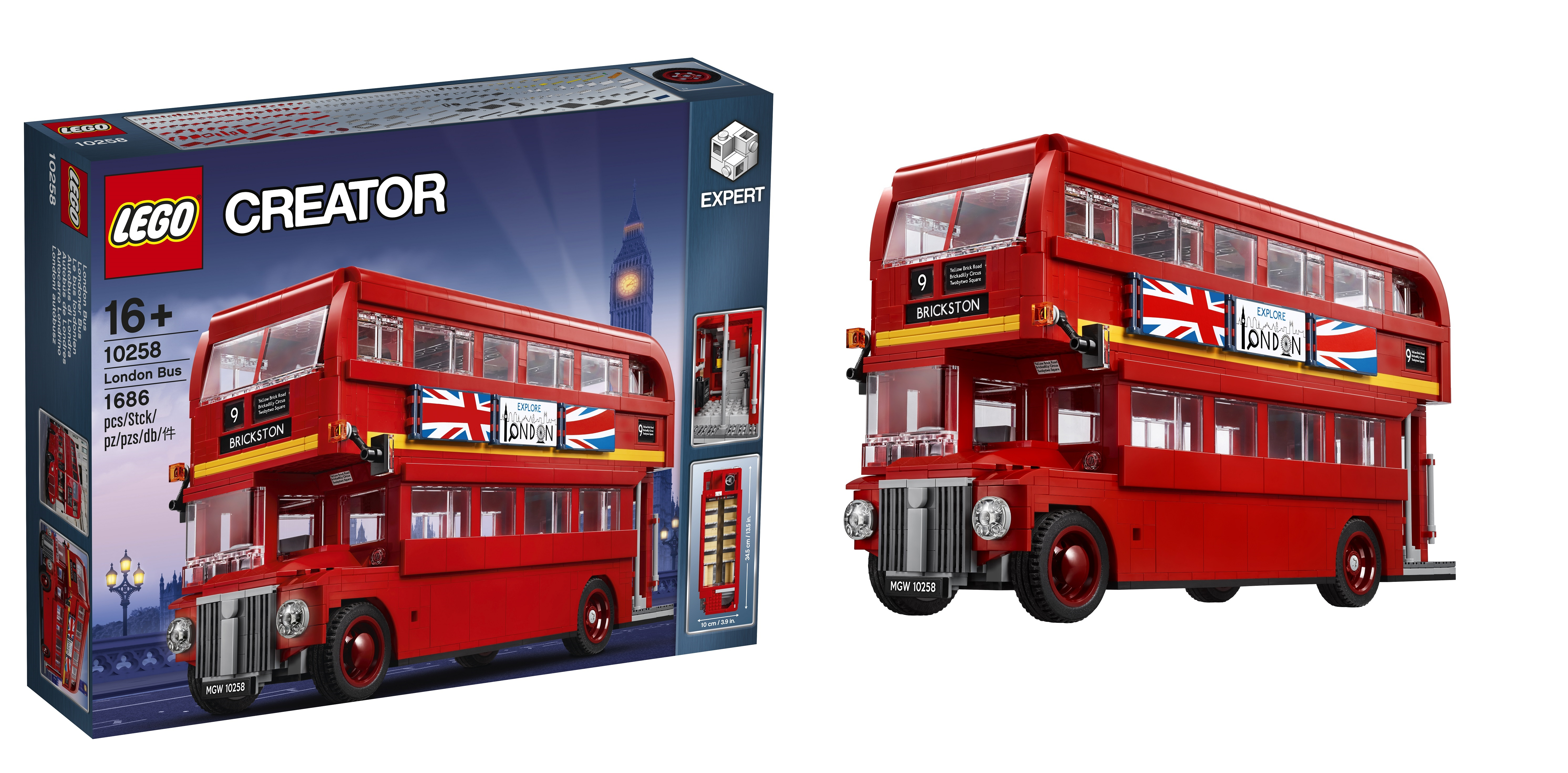 all aboard the lego creator expert 10258 london bus. Black Bedroom Furniture Sets. Home Design Ideas