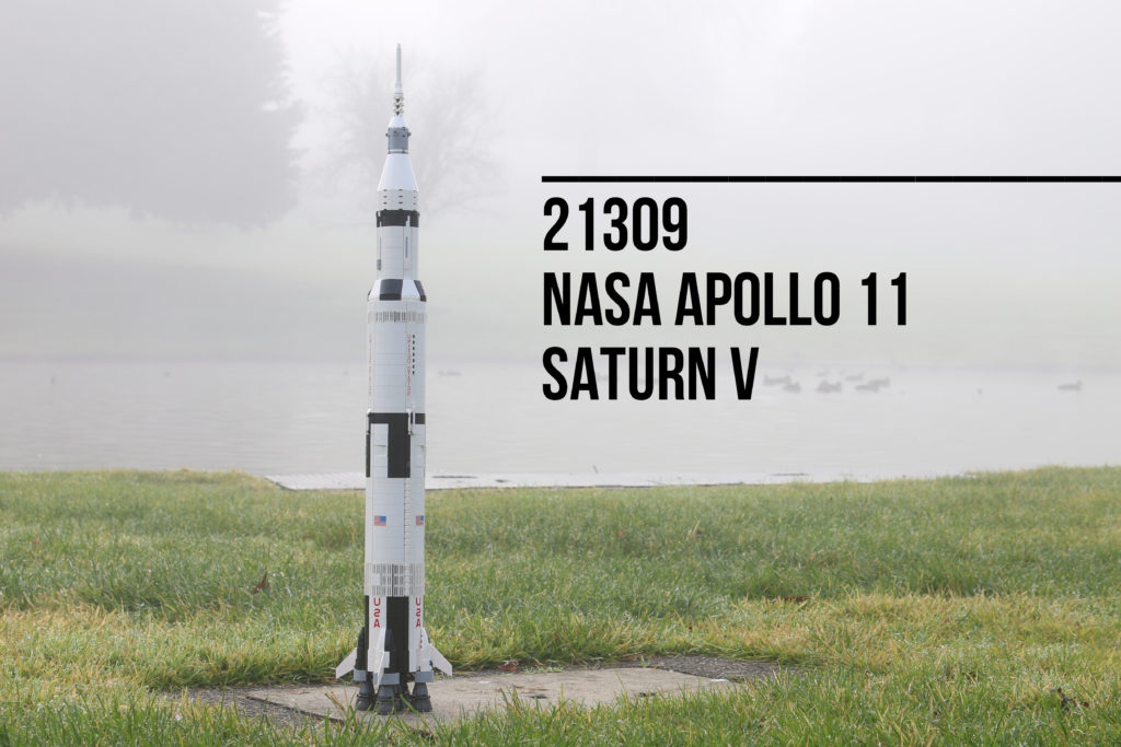 Review: LEGO 21309 NASA Apollo Saturn V