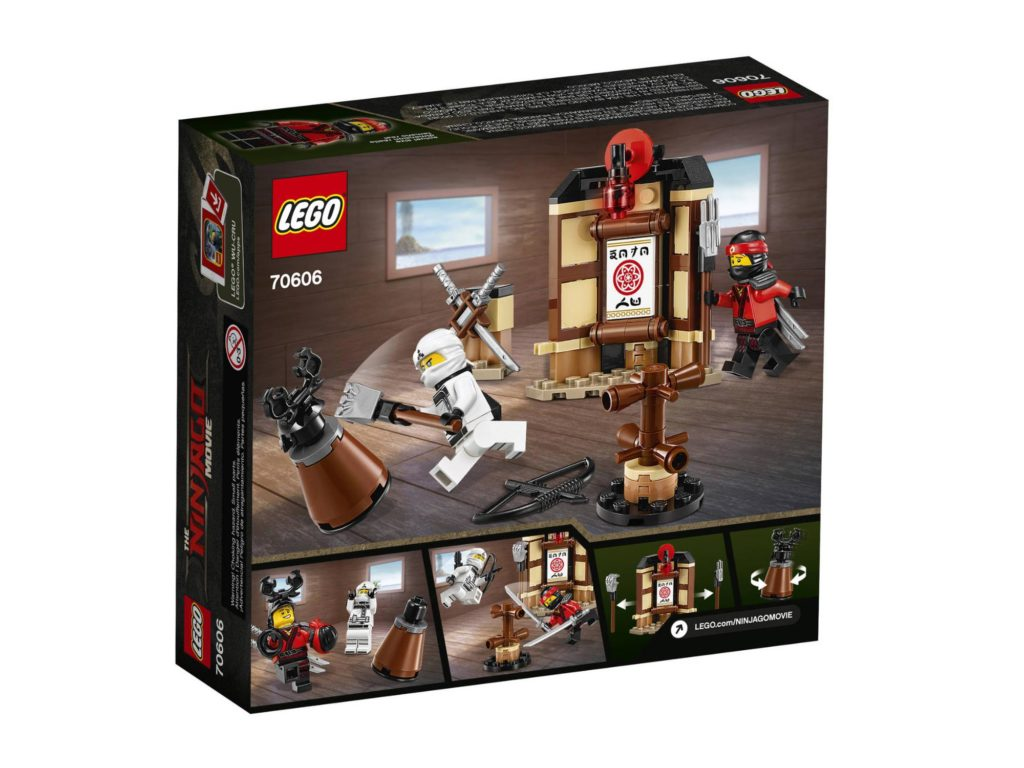 lego ninjago movie sets instructions
