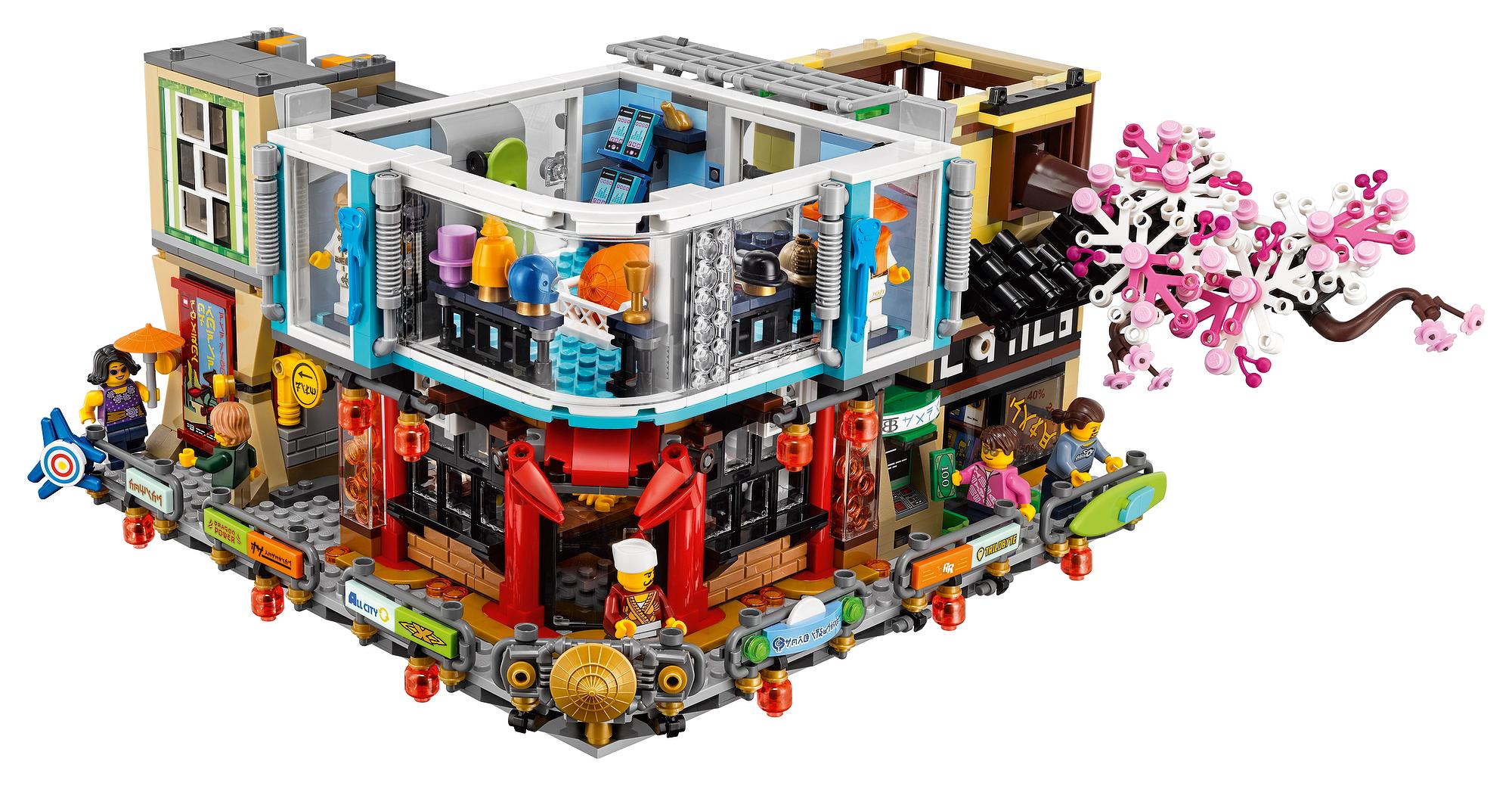 Lego reveals 70620 ninjago city the massive modular - Photo ninjago ...