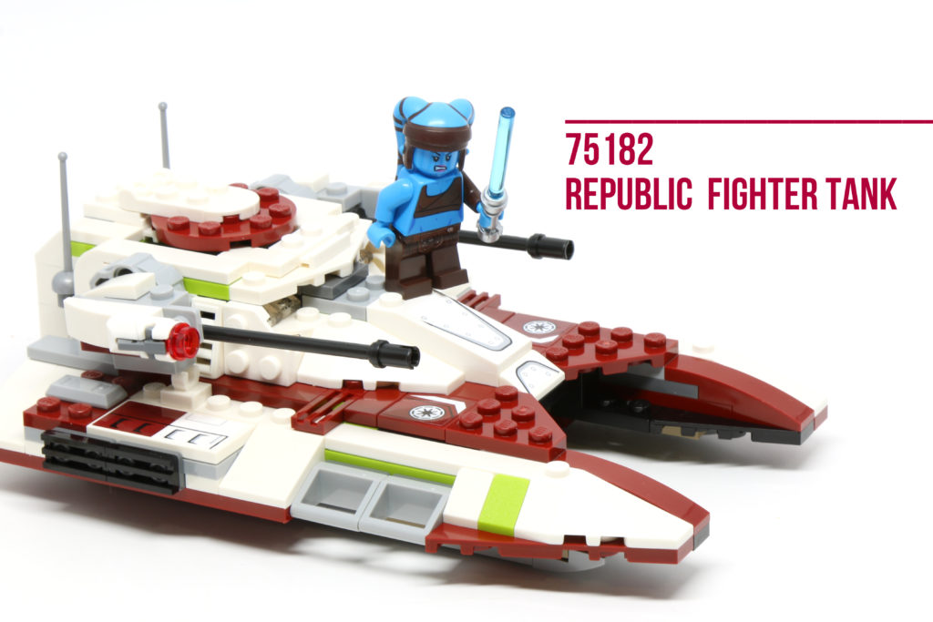 Review: LEGO 75182 Republic Fighter Tank