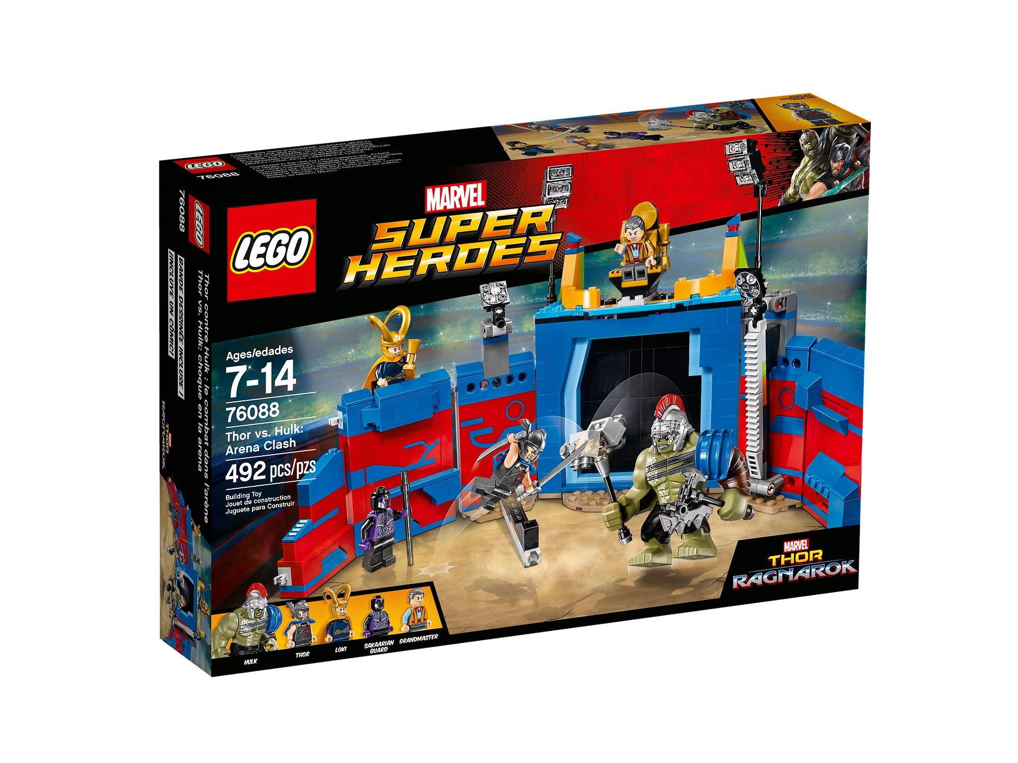 lego avengers hulk vs thor - photo #3