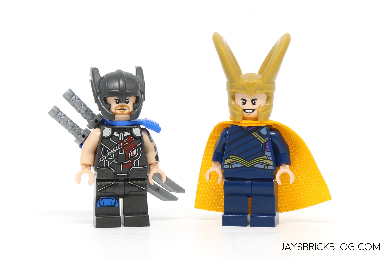 Review: LEGO 76088 Thor vs Hulk Arena Clash