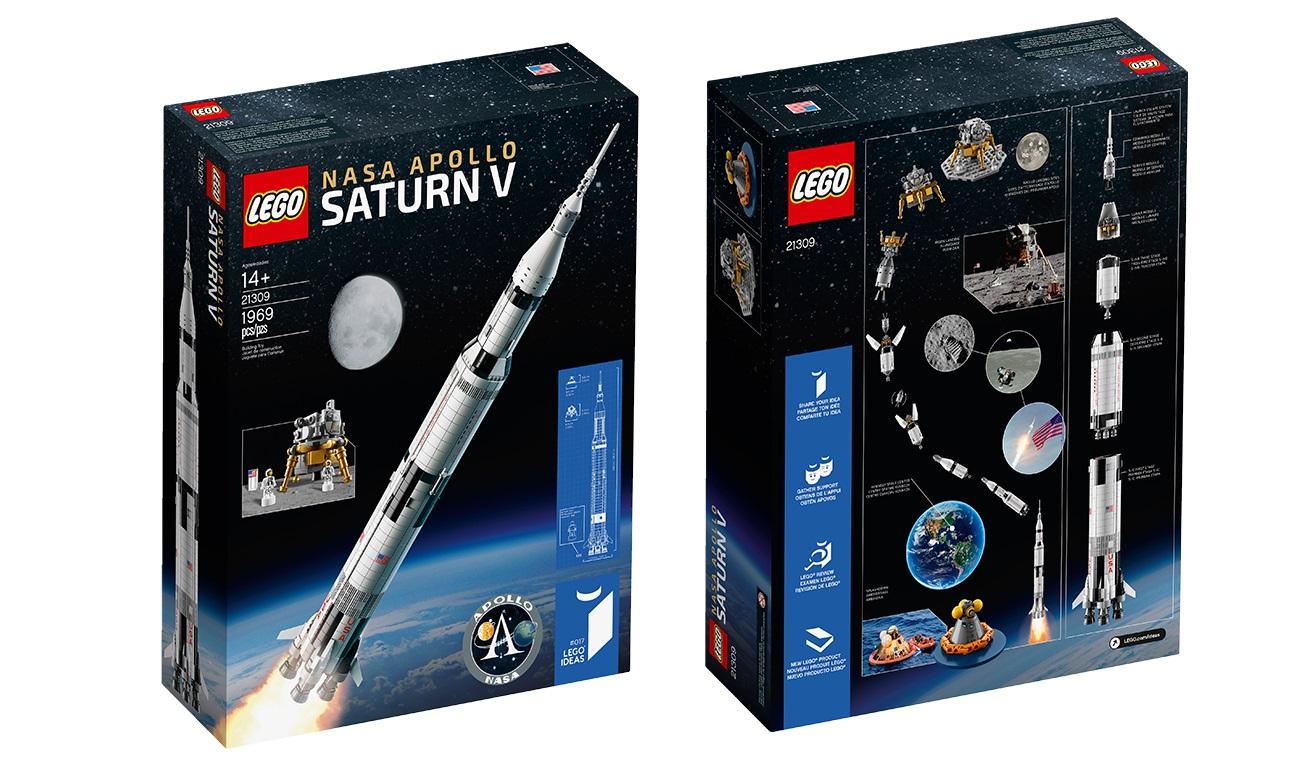Review: LEGO 21309 NASA Apollo Saturn V – Jay's Brick Blog