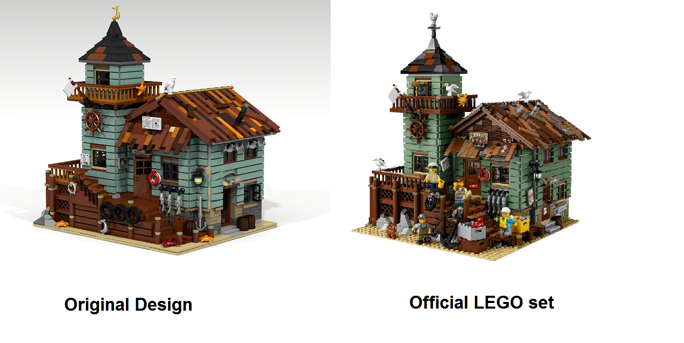 The LEGO 21310 Old Fishing Store combines rustic charm with charming ...