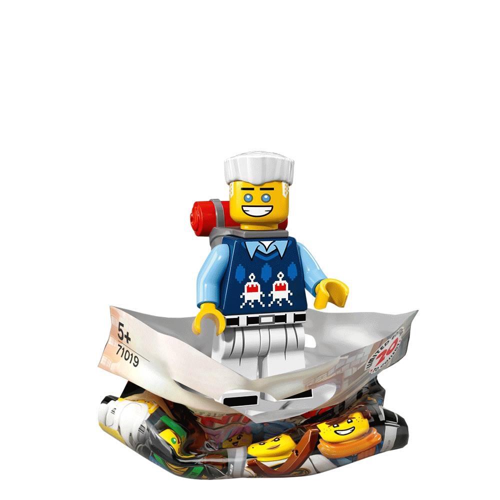 Lego Ninjago Movie Series Sushi Chef  Minifigure