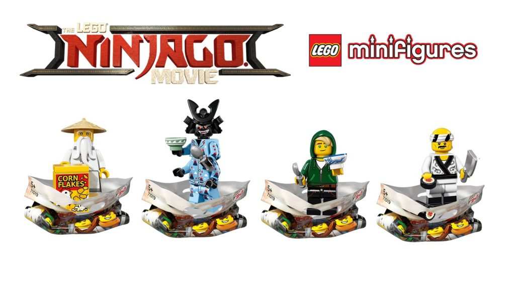 Meet All 20 Characters From The Lego Ninjago Movie Minifigure Series