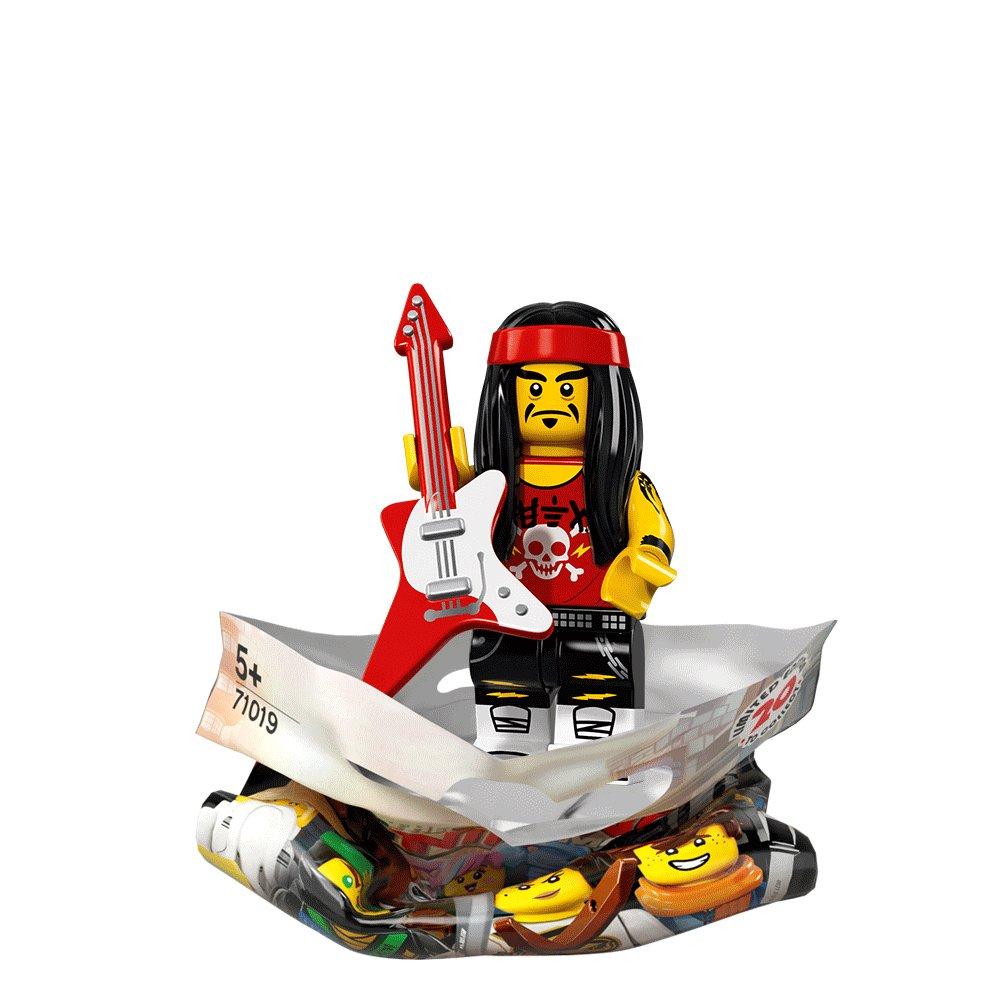 gong and guitar rocker - Legocom Ninjago