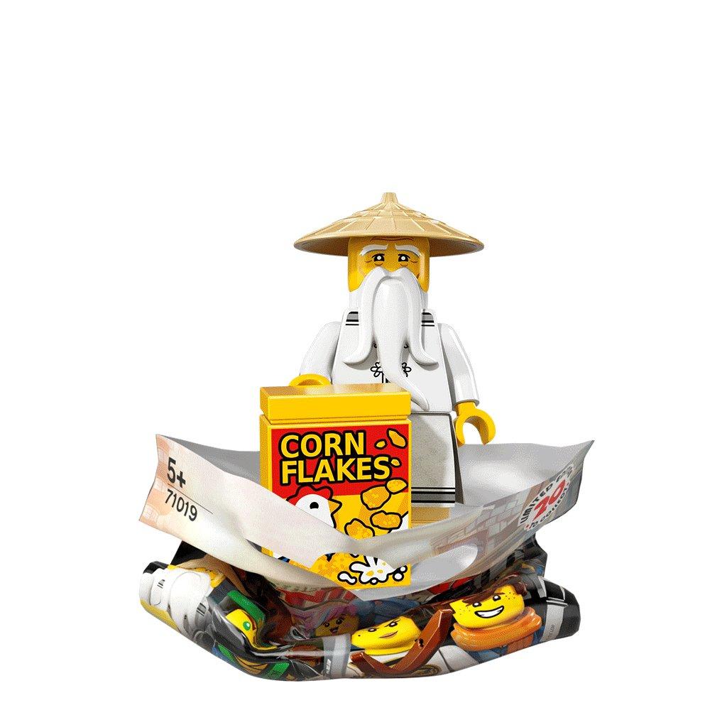 New Sealed No Lego 71019 The Ninjago Movie Series 13 Shark Army Angler