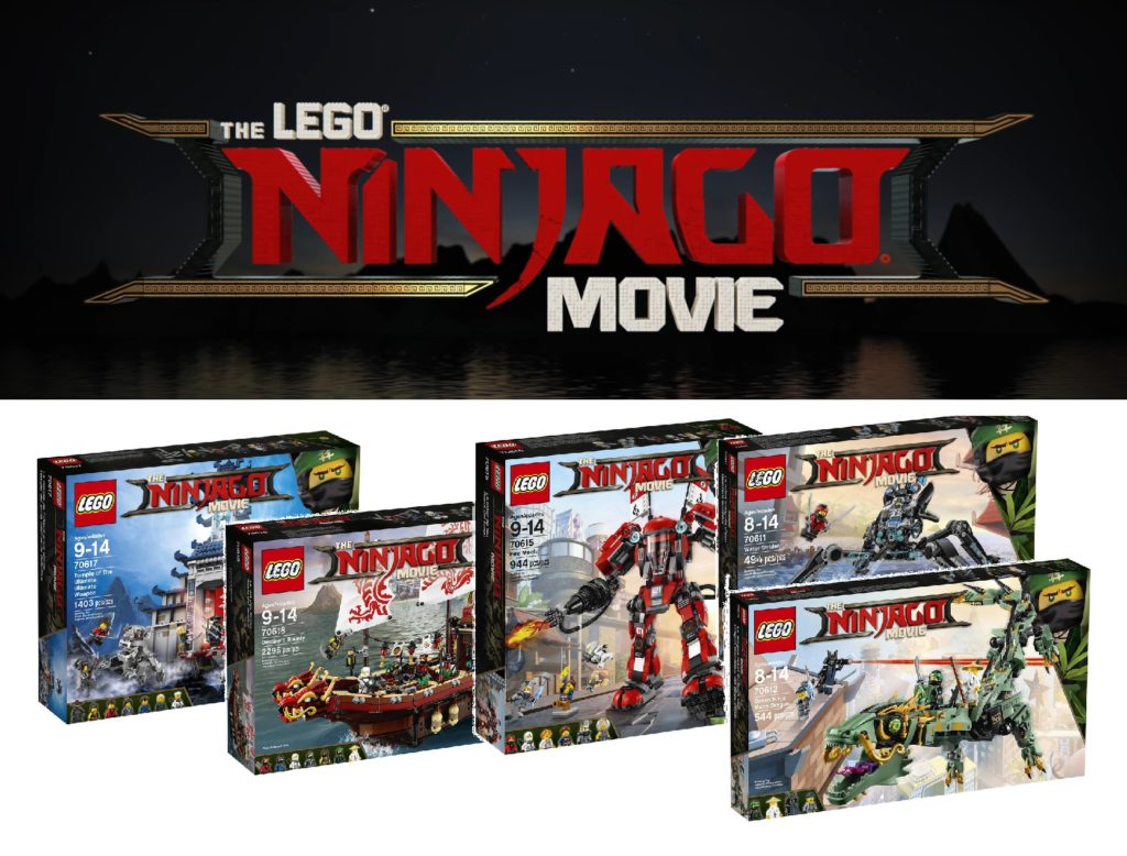 First look at the LEGO Ninjago Movie Sets!