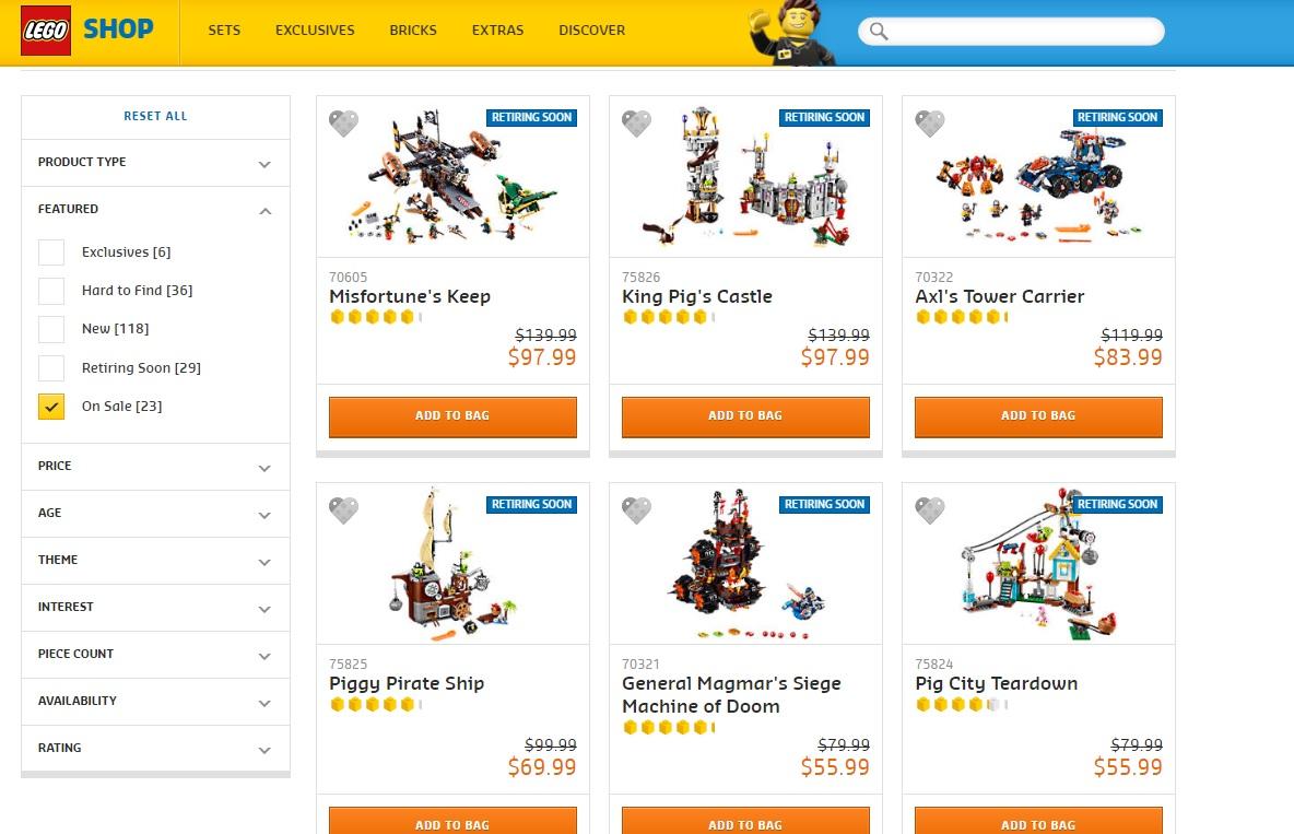Australian lego sale mid year toy sale june 2017 for Lago shop online