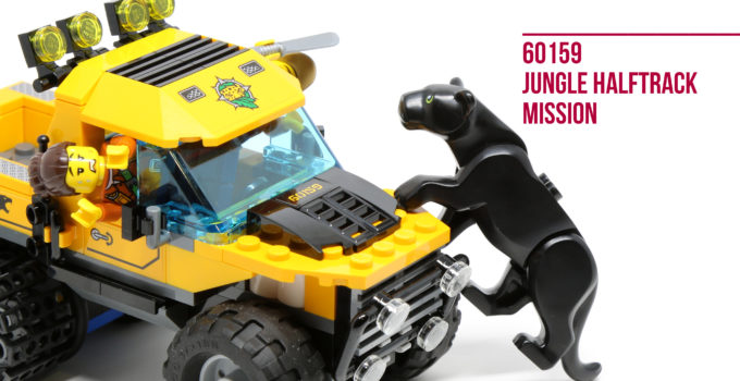 Review: LEGO 60159 Jungle Halftrack Mission