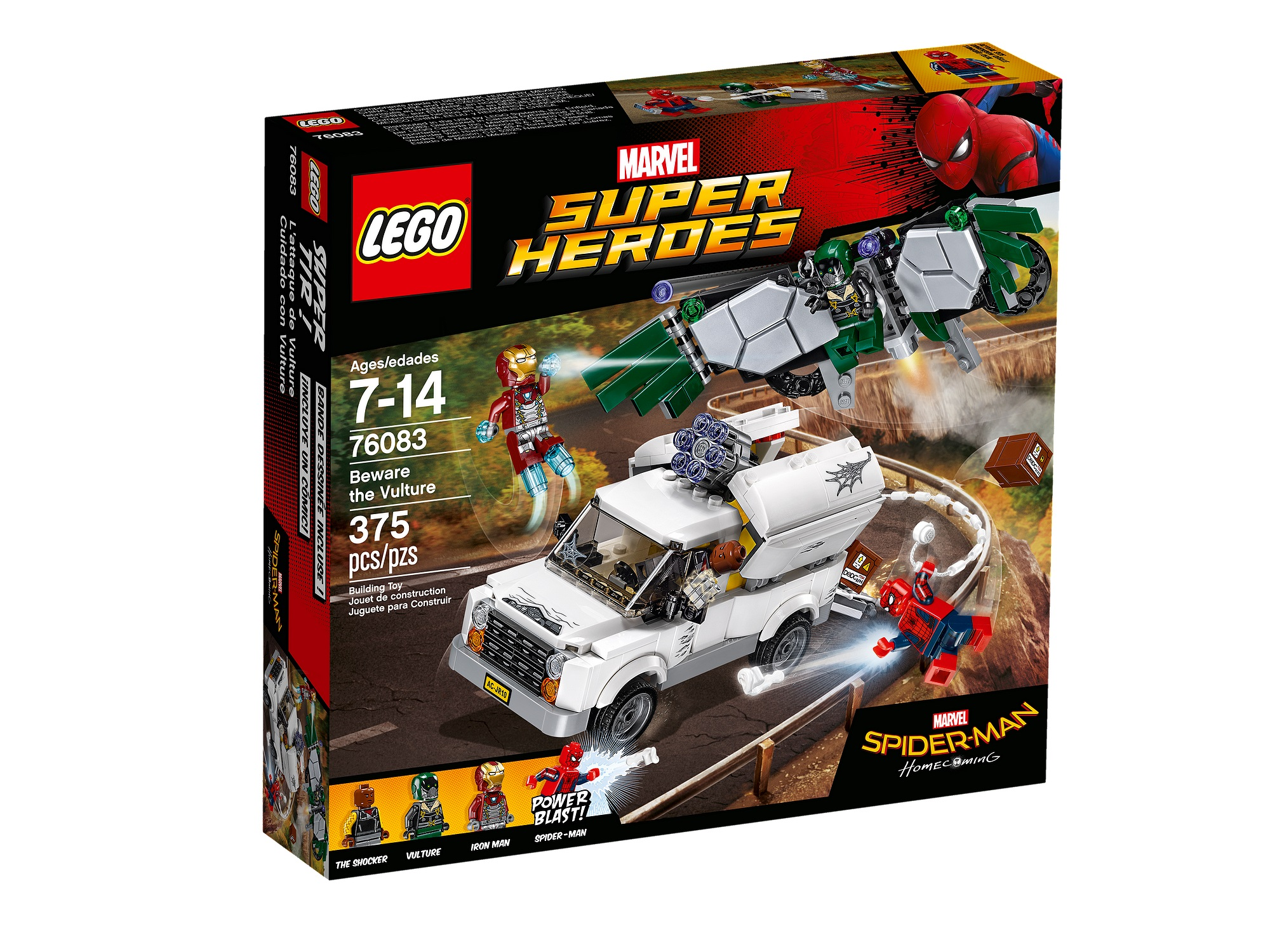 Review: LEGO 76083 Beware The Vulture – Jay's Brick Blog