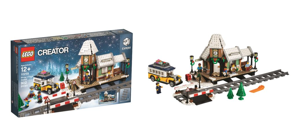Introducing the 2017 Winter Village set – LEGO 10259 Winter Village Station