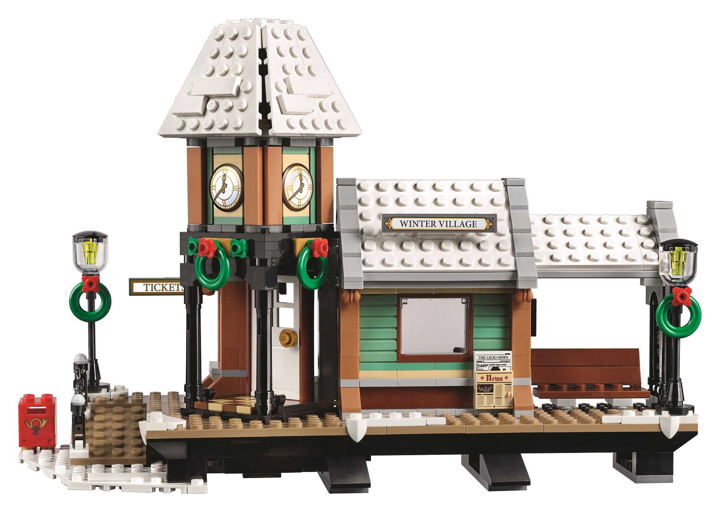 Introducing the 2017 Winter Village set – LEGO 10259 Winter ...