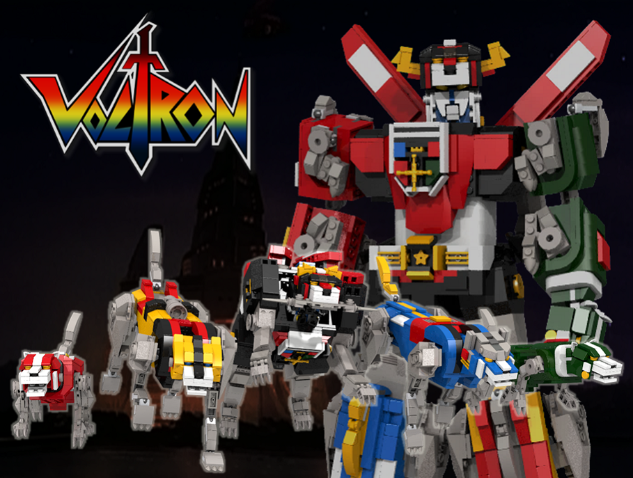 LEGO Voltron and Ship In A Bottle, The Flagship Leviathan are your next LEGO Ideas sets!