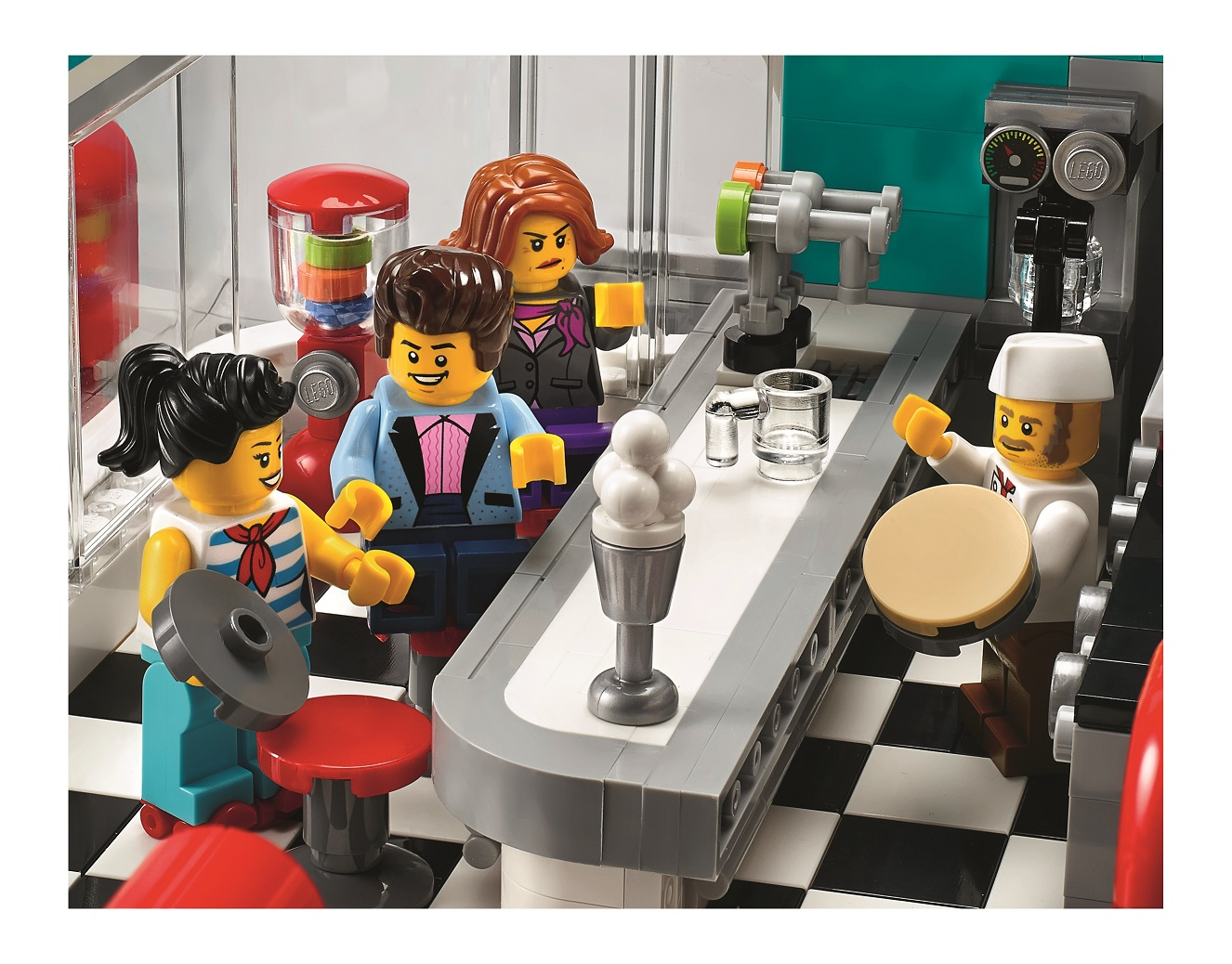 Here S A Look At Lego 10260 Downtown Diner The First