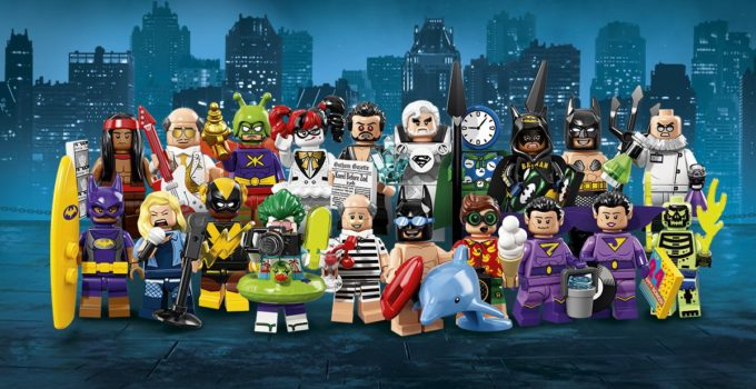 Check out the characters from LEGO Batman Movie Minifigures Series 2!