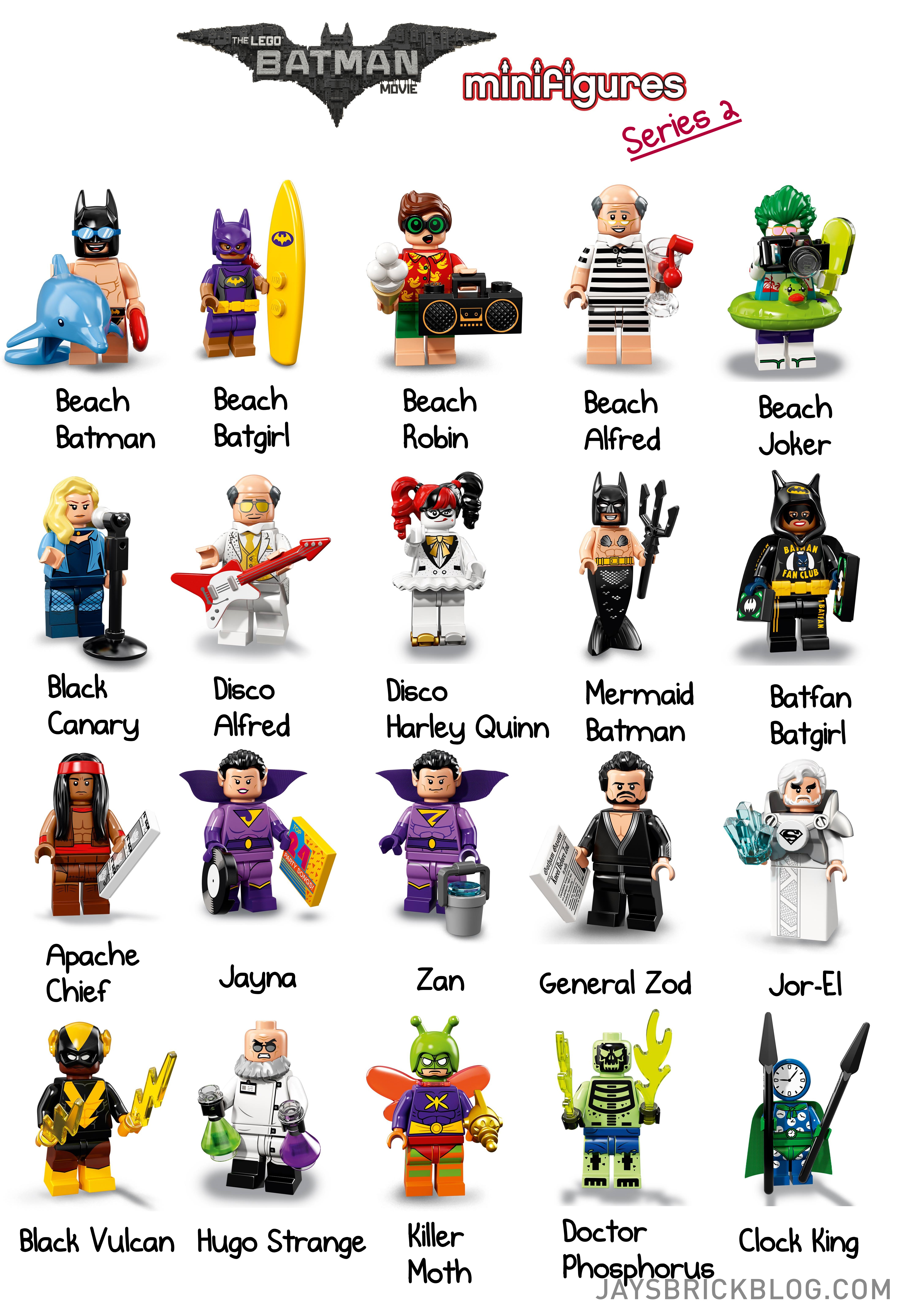 Check out the characters from LEGO Batman Movie ...