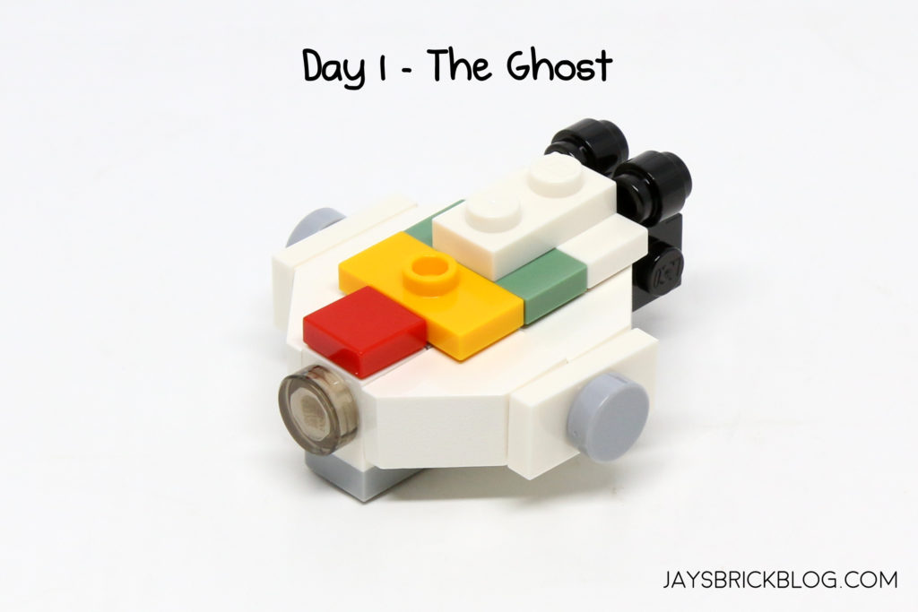 Day 1 Of The 2017 Star Wars Advent Calendar Was A Big Surprise With Ghost From Rebels Is An Animated TV Cartoon Series Set