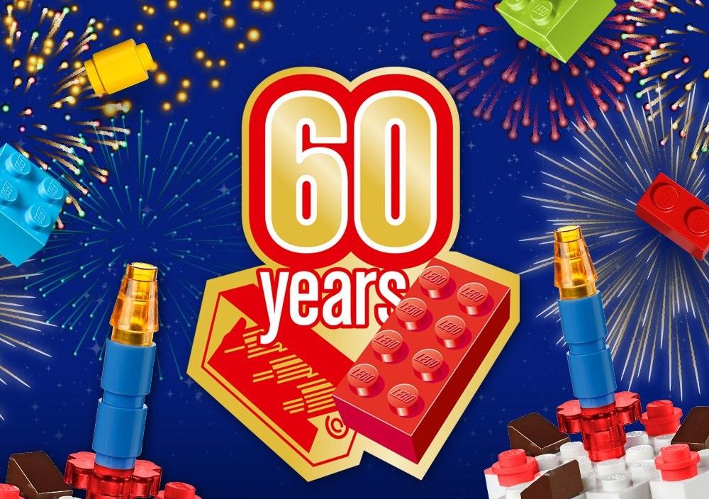 LEGO celebrates its 60th birthday of the brick