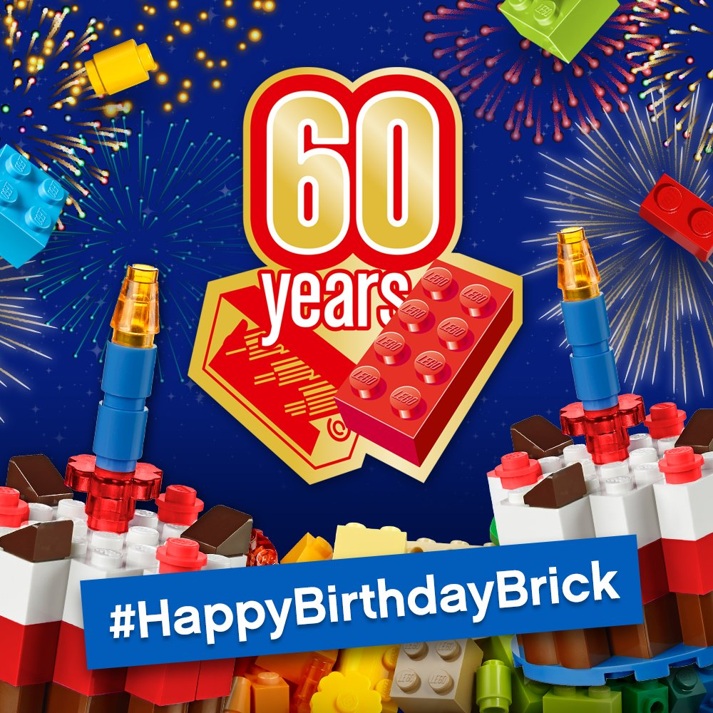 Lego Celebrates Its 60th Birthday Of The Brick Jay S