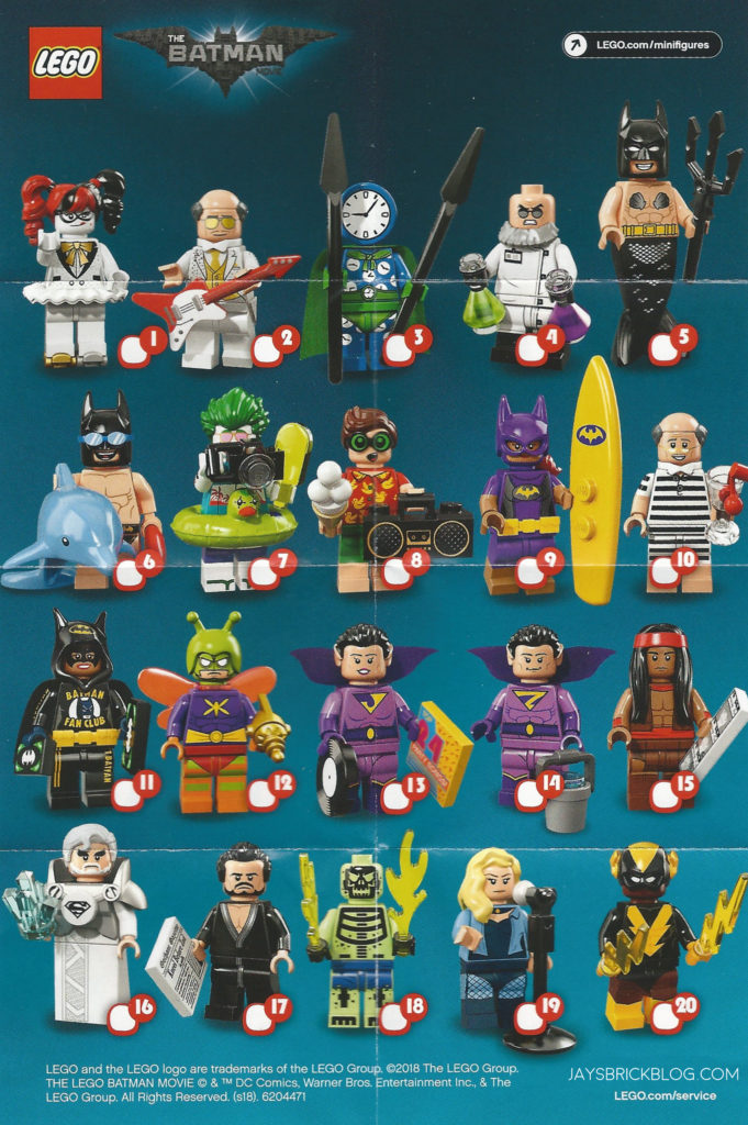 Review Lego Batman Movie Minifigures Series 2 Jay S Brick Blog