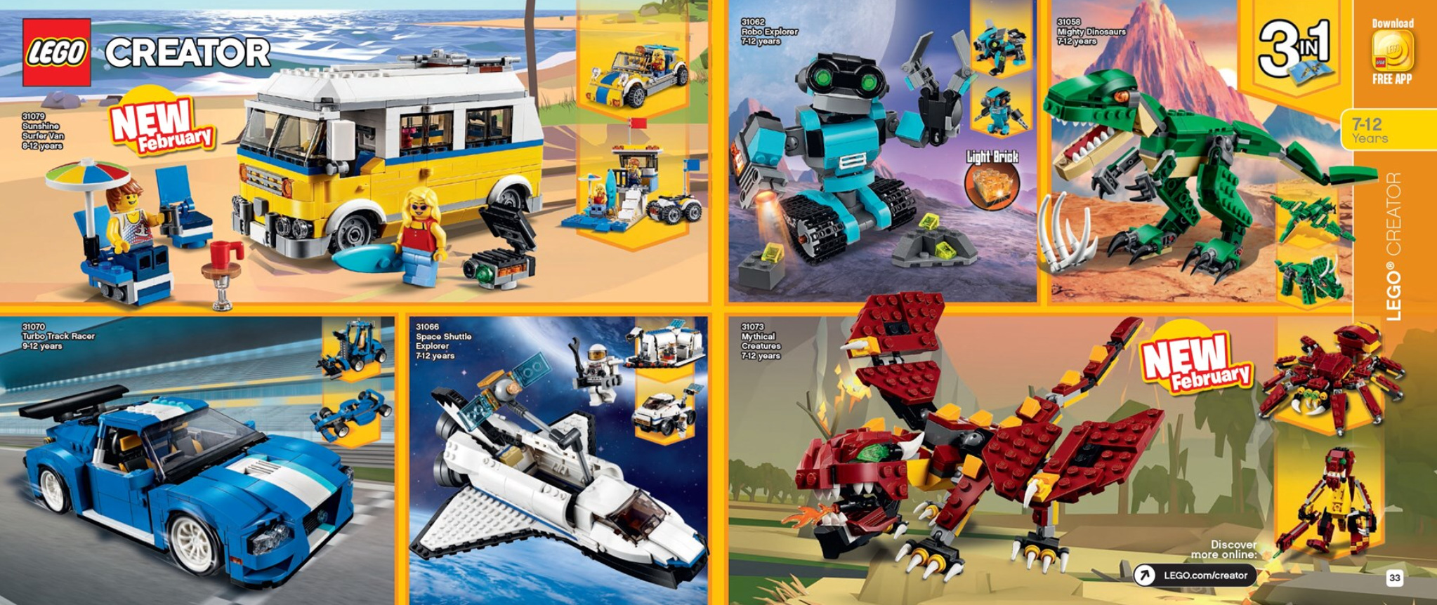 Australian LEGO Release Dates – First Half of 2018 sets (January