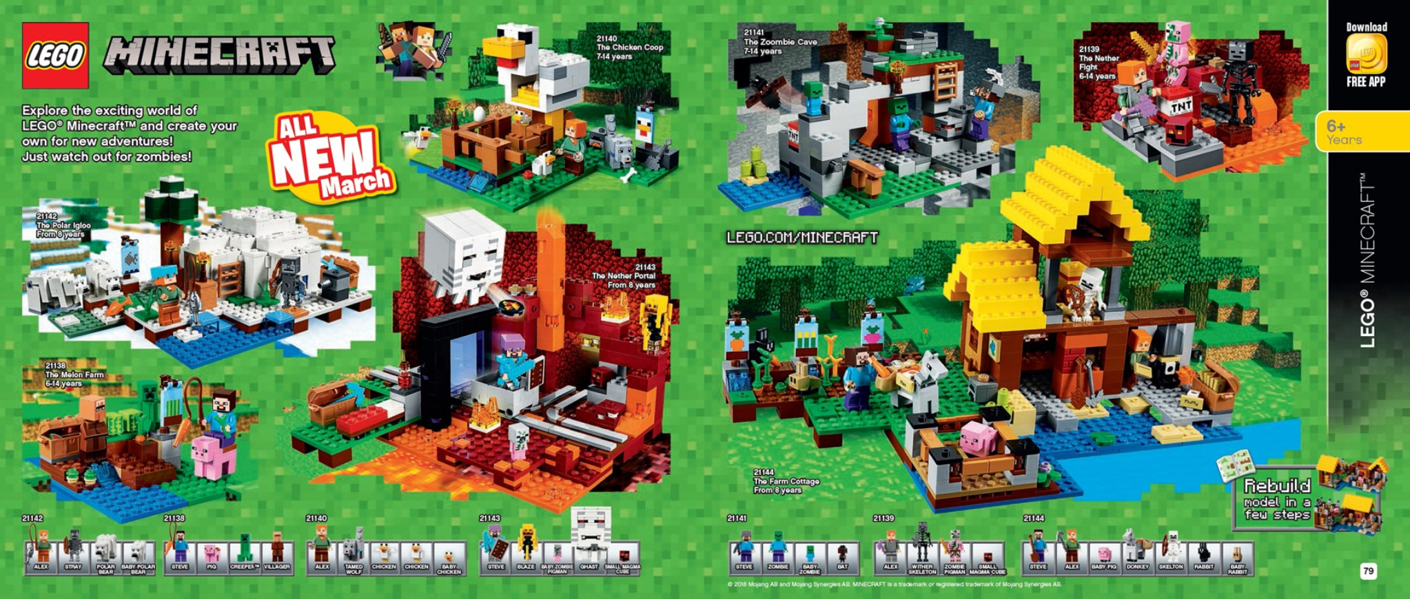 Australian lego release dates first half of 2018 sets for Lego world craft