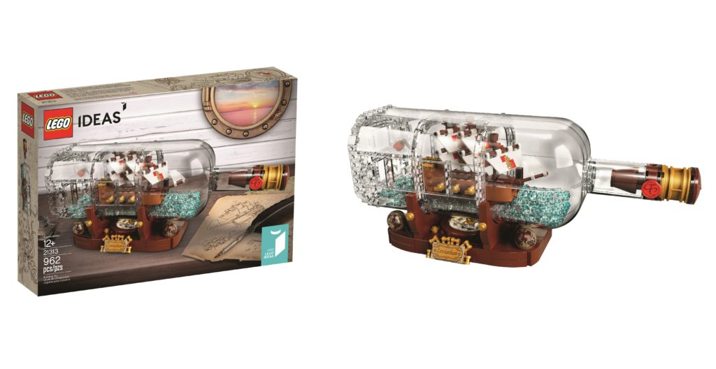 Official reveal of LEGO 21313 Ship In A Bottle