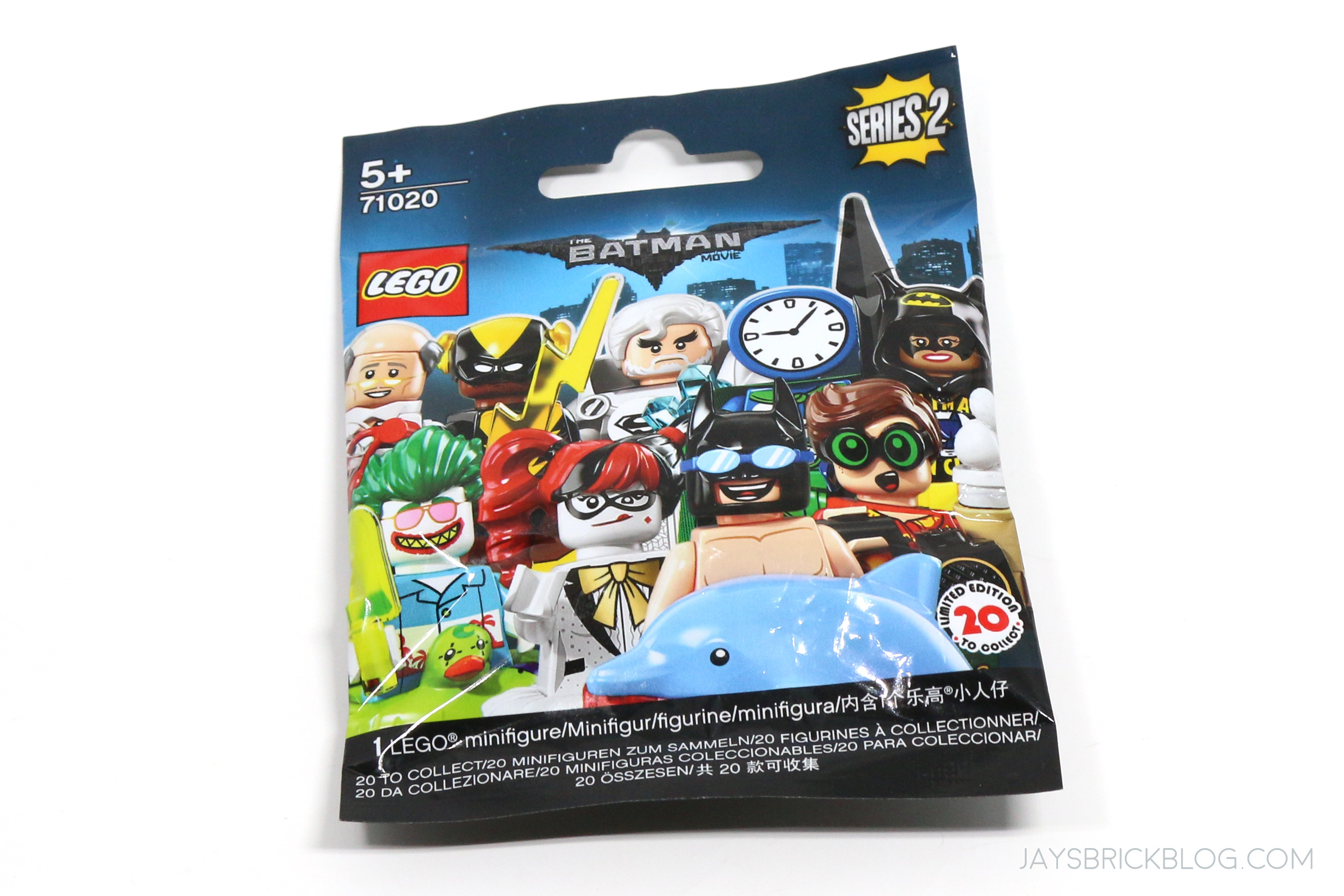 The LEGO Batman Movie Series 2 LEGO 71020 Friends are Family Alfred