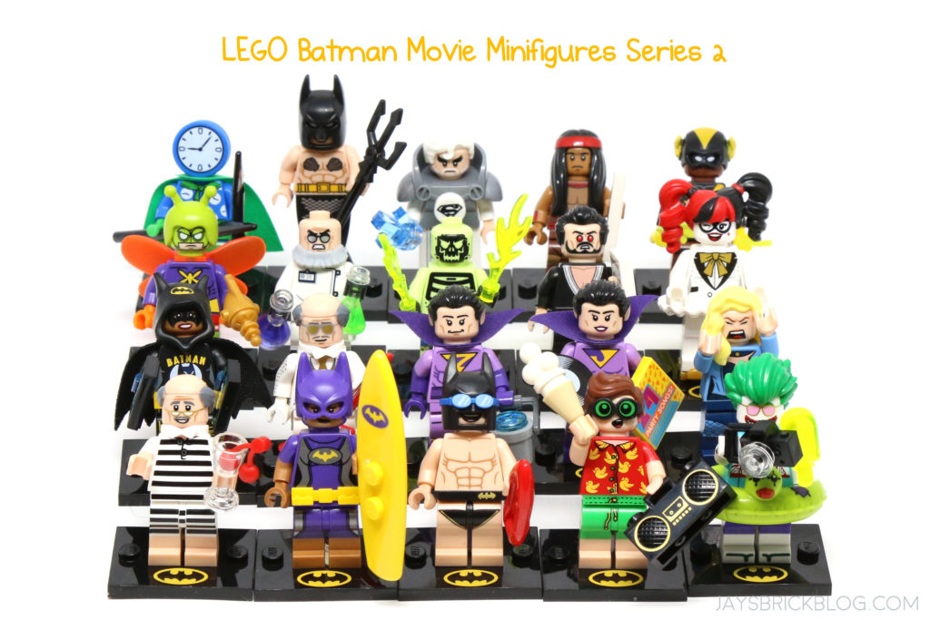 review lego batman movie minifigures series 2
