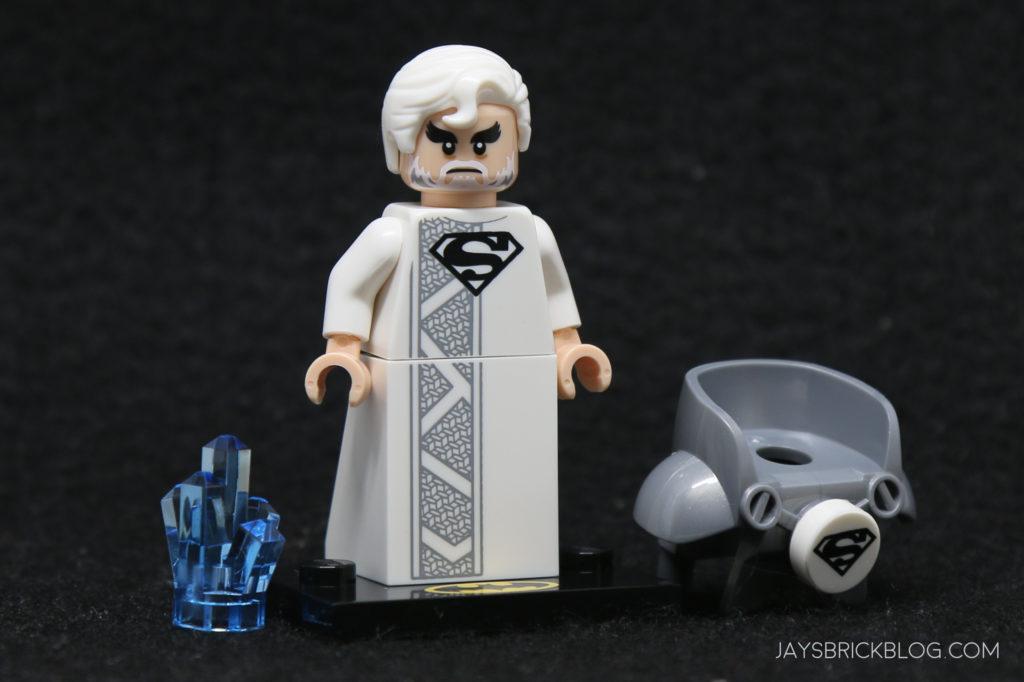 Lego mini figure 1 Pearl Silver Surf board