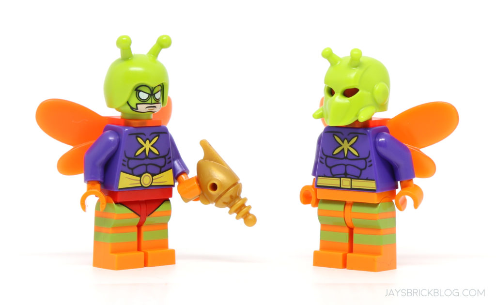 LEGO-MINIFIGURES THE BATMAN MOVIE SERIES 2 X 1 HEAD FOR THE KILLER MOTH PARTS