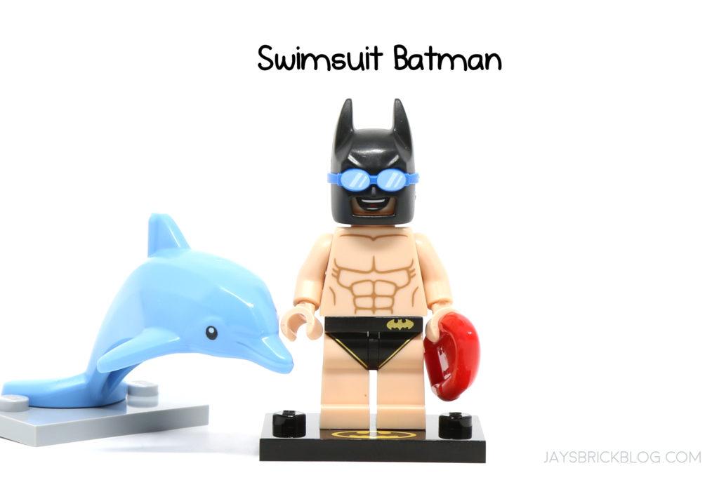 Batman Movie Series 2 Mini Figure LEGO 71020 Vacation // Swimsuit Batman