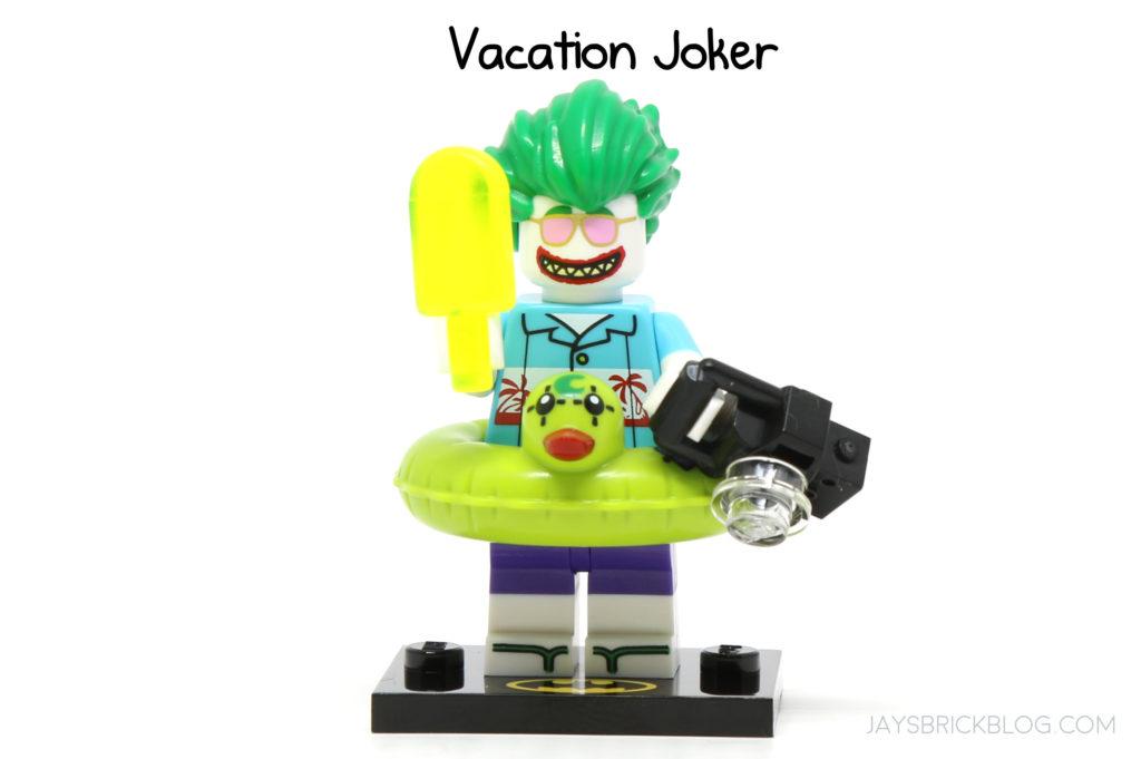 Vacation Joker Batman Movie Series 2 LEGO 71020 Mini Figure