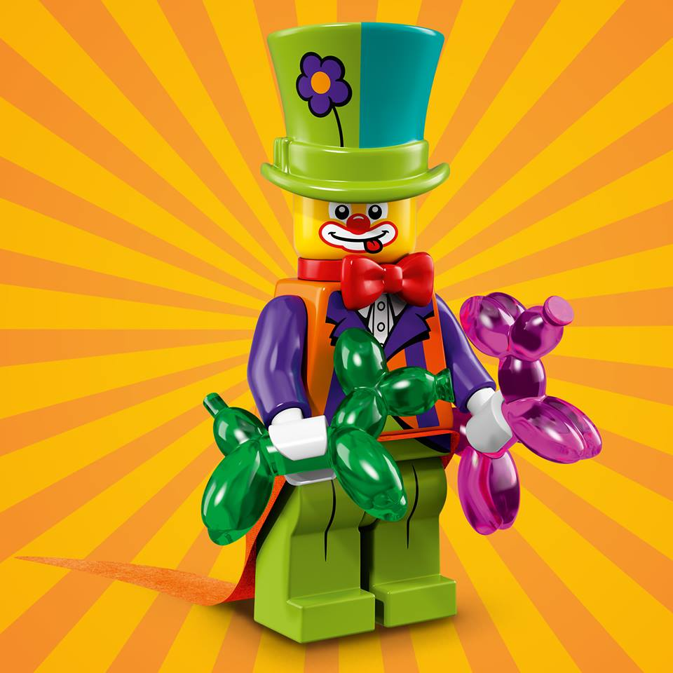 First photos of the party-themed LEGO Minifigures Series 18