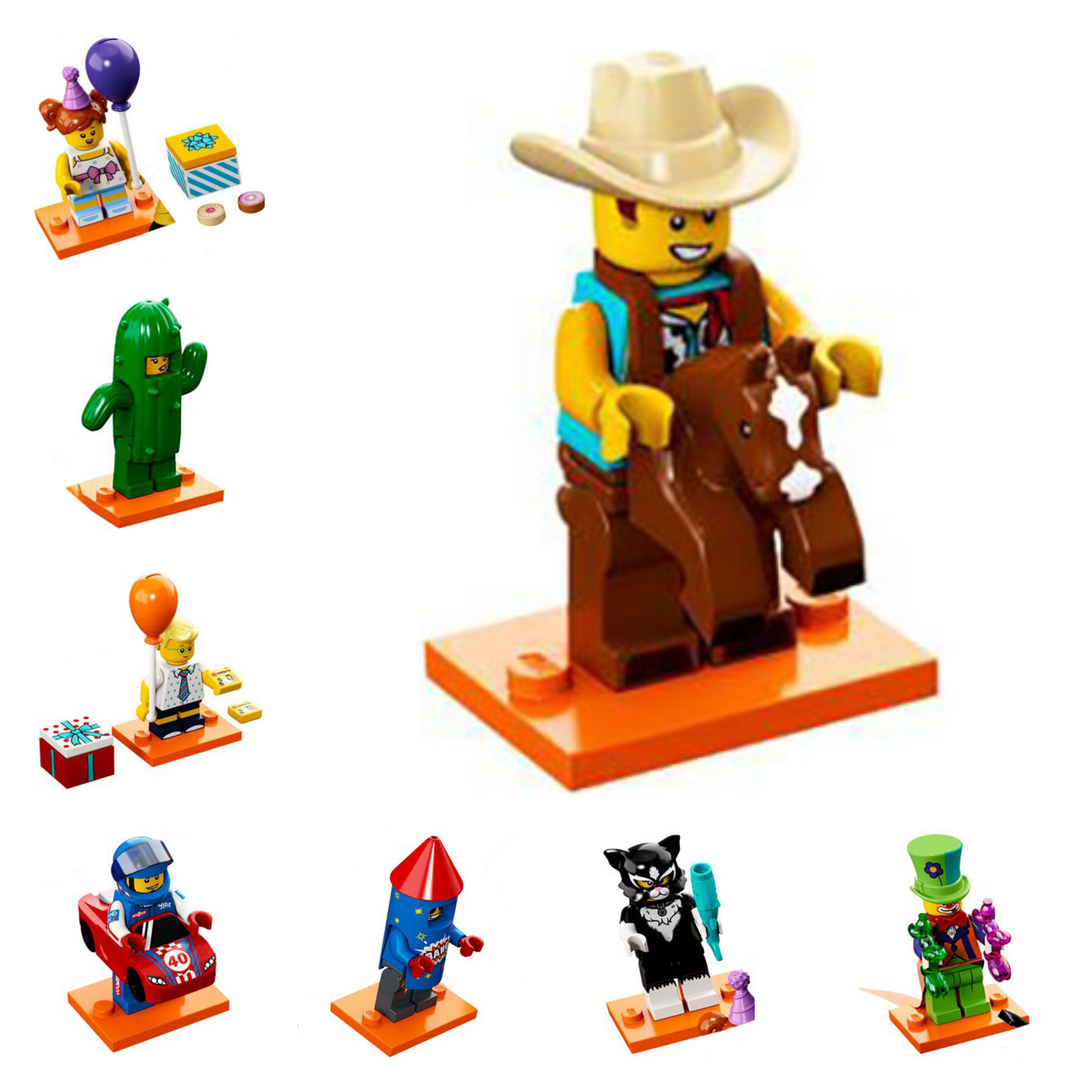 First photos of the costume party-themed LEGO Minifigures ...