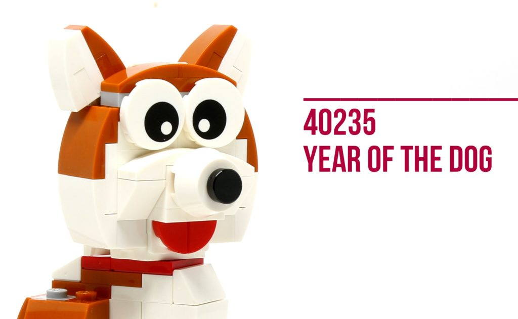 Review: LEGO 40235 Year of the Dog