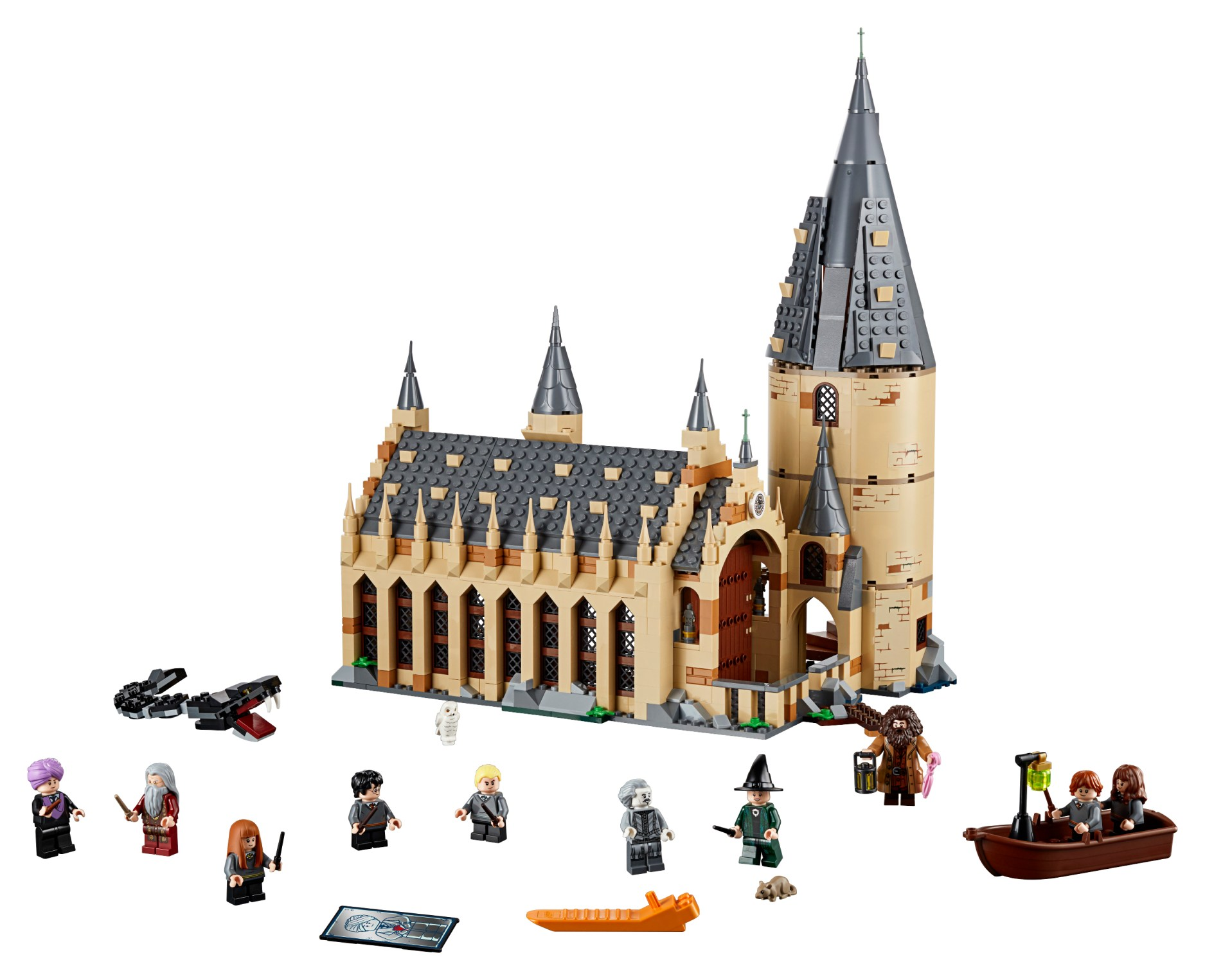 Lego Harry Potter Sets Return In 2018 Starting With 75954