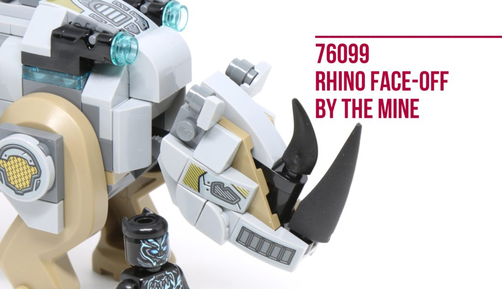 Review: LEGO 76099 Rhino Face-Off By The Mine