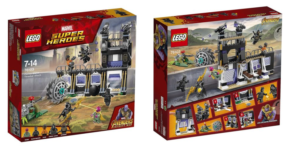 Preview: LEGO Avengers Infinity War Sets (2018) - Jay's ...