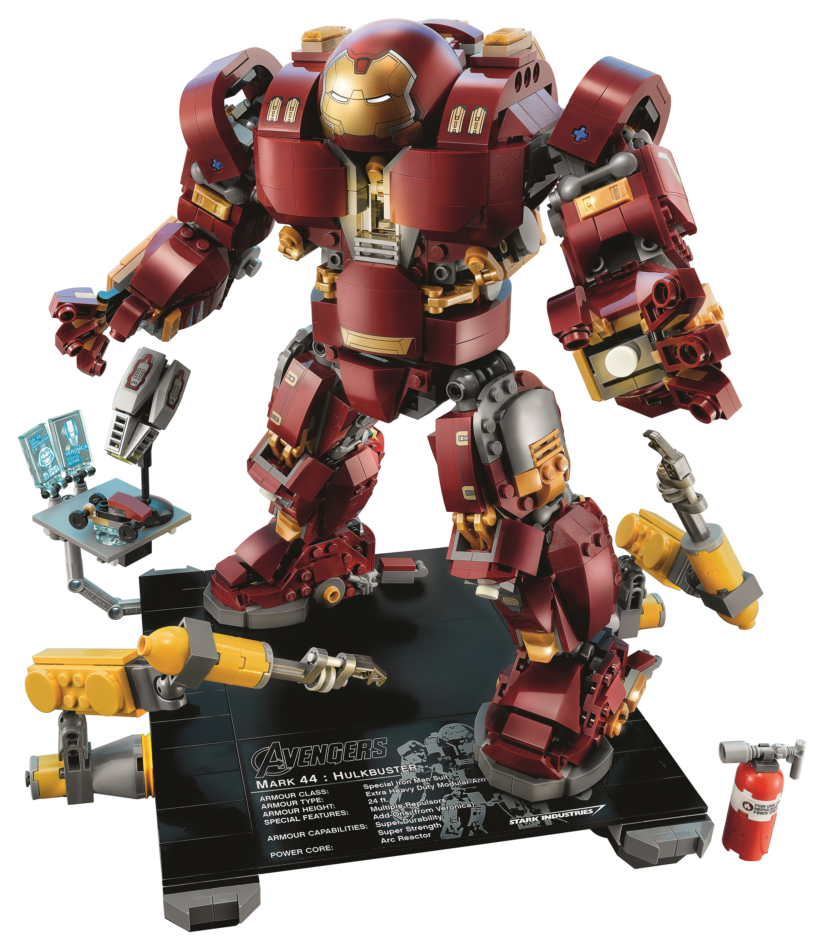 Suit up with LEGO 76105 The Hulkbuster: Ultron Edition ...